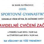 Gymnastika zacinama 2016